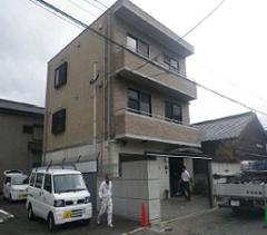 福岡県北九州市外壁塗装施工前