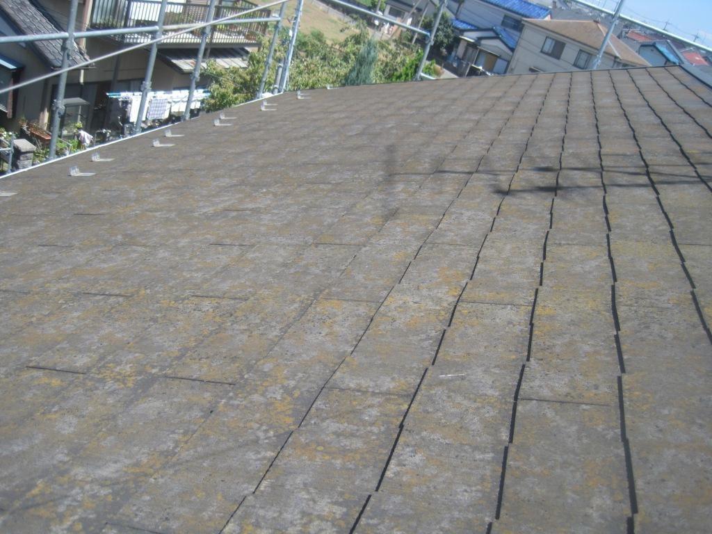 屋根塗装埼玉県草加市施工前