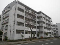 福岡県マンション外壁塗装施工前