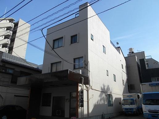 ビル外壁塗装東京都江東区施工後