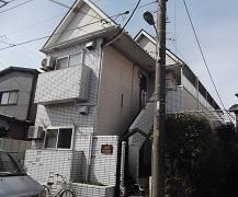 埼玉県戸田市アパート外壁塗装施工前
