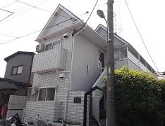 埼玉県戸田市アパート外壁塗装施工後