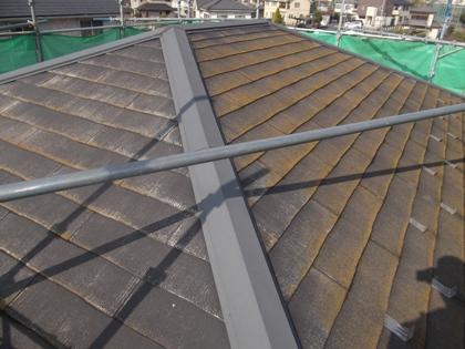 屋根塗装埼玉県さいたま市施工前