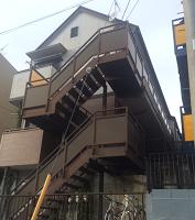 外壁塗装横浜市施工前1