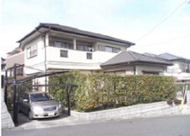 福岡県福岡市外壁塗装施工前