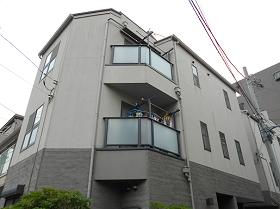 東京都江東区外壁塗装色施工前