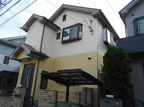 東京都東久留米市外壁塗装施工後