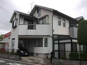 山口県下関市外壁塗装施工前