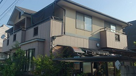 山陽小野田市外壁塗装施工前