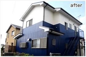 小田原市外壁塗装施工後