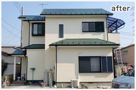 神奈川県外壁塗装施工後