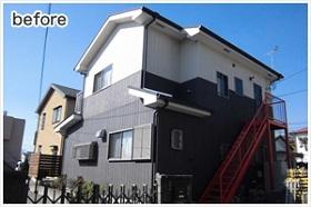 小田原市外壁塗装施工前