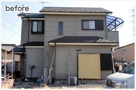 神奈川県外壁塗装施工前