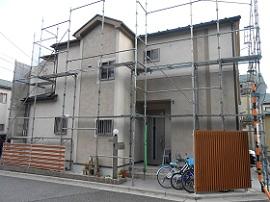 千葉県市原市外壁塗装施工前