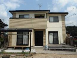 岐阜県外壁塗装施工後