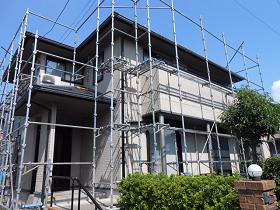 千葉県袖ケ浦市外壁塗装施工前