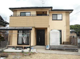 岐阜県外壁塗装施工前