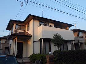 千葉県袖ケ浦市外壁塗装施工後