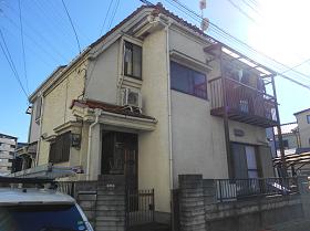 埼玉県川口市外壁塗装施工前