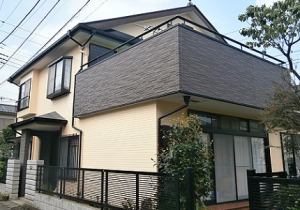 福岡県外壁塗装施工前