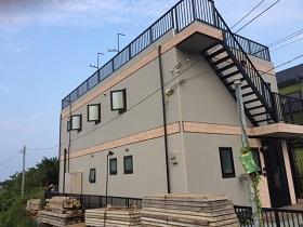 神奈川県横須賀市外壁塗装施工後