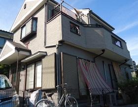 神奈川県横浜市外壁塗装施工前