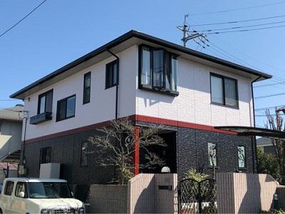 外壁塗装岡山県倉敷市施工後