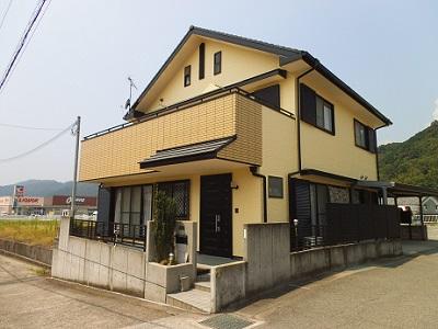和歌山県外壁塗装施工例施工後