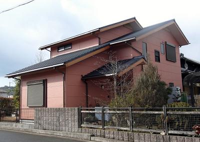 外壁塗り替え業者 和歌山市施工後