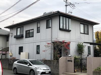 外壁塗装岡山県倉敷市施工前