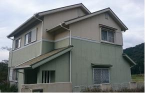 兵庫県佐用町外壁塗装施工前