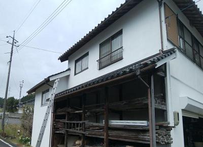 外壁塗装 岡山市北区施工後