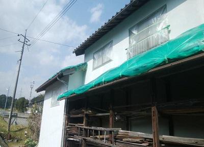 外壁塗装 岡山市北区施工前