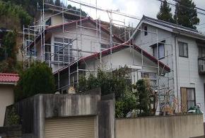 岡山市中区 外壁塗装 塗装後