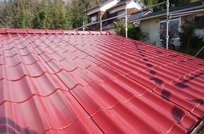 岡山市中区 屋根塗装 施工後