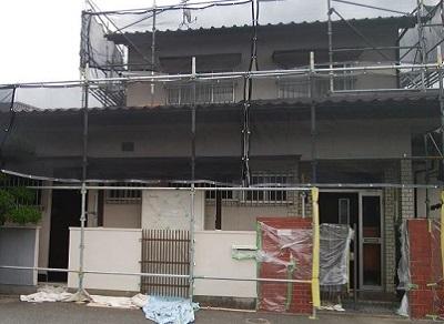外壁塗装 岡山市施工前
