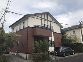 姶良市 住宅塗装 施工例