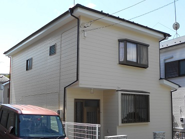 鎌倉市 H様 外壁塗装 塗装後