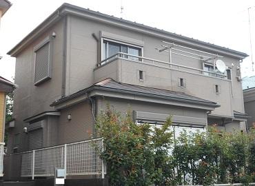 横浜市 K様 外壁塗装 塗装前